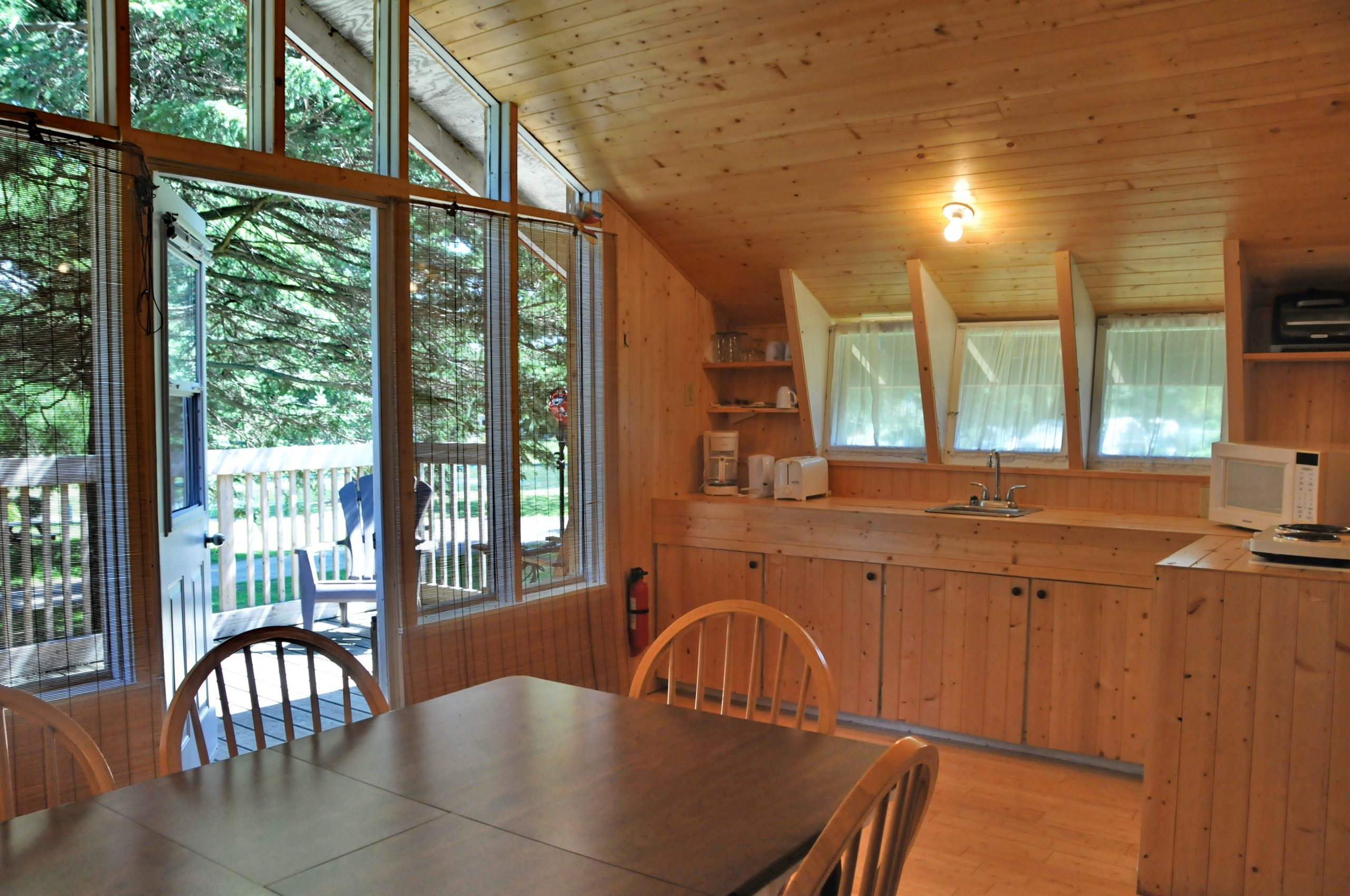 Chalet – Camping Lac St-Michel